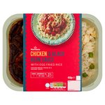 Morrisons Chicken in Black Bean Sauce with Egg Fried Rice