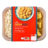Morrisons Oriental Chinese Chicken Curry & Egg Fried Rice