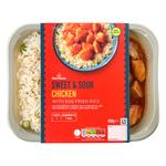 Morrisons Sweet & Sour Chicken with Egg Fried Rice