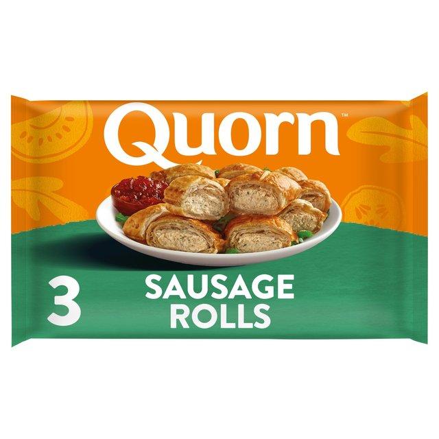 Quorn Sausage Rolls 3 Pack