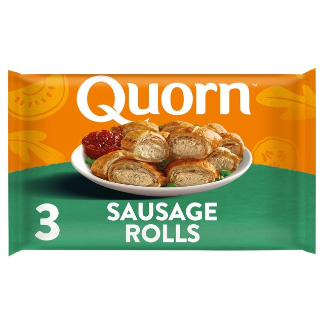 Quorn Sausage Rolls 3 Pack