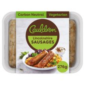 Cauldron Vegetarian Lincolnshire Sausages