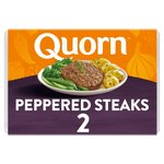 Quorn 2 Peppered Steaks