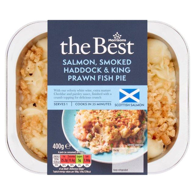 Morrisons: Morrisons The Best Salmon Smoked Haddock & King ...