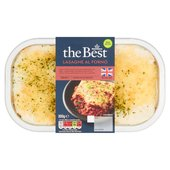 Morrisons The Best  Lasagne Al Forno