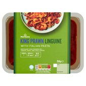 Morrisons Italian King Prawn Linguine