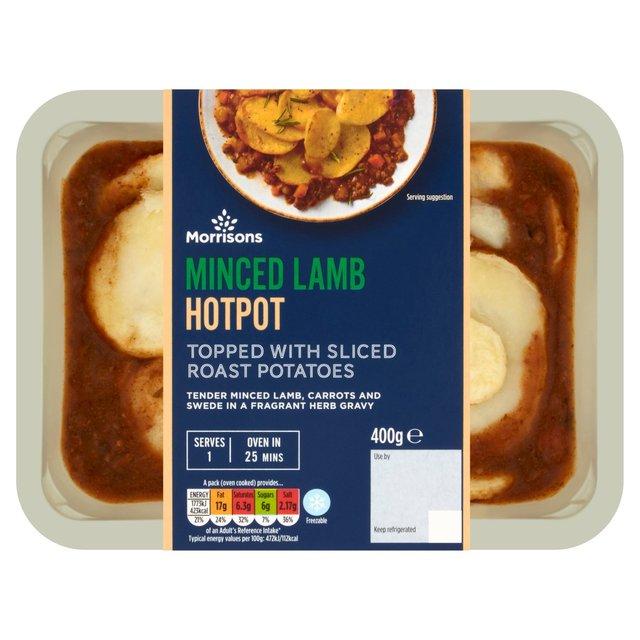 Morrisons Minced Lamb Hotpot