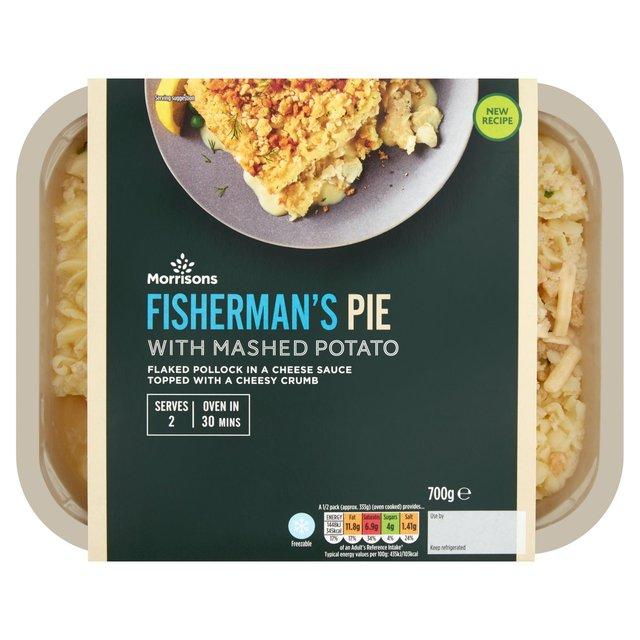 Morrisons: Morrisons Fisherman's Pie 700g(Product Information)
