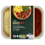Morrisons Braised Beef & Mash