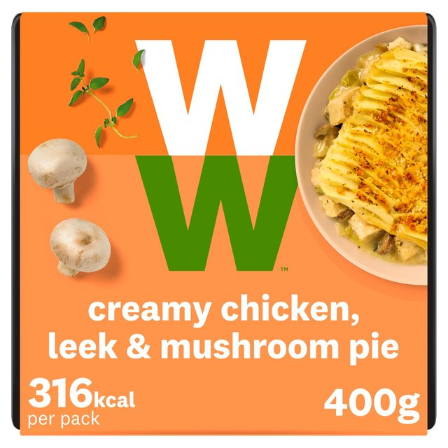 Weight Watchers Chicken Leek Mushroom Pie Morrisons