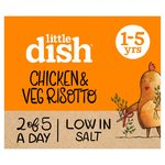 Little Dish Chicken & Veg Risotto Toddler Meal