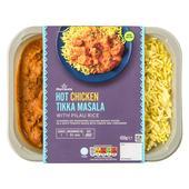 morrisons m kitchen indian hot chicken tikka masala pilau rice 450g