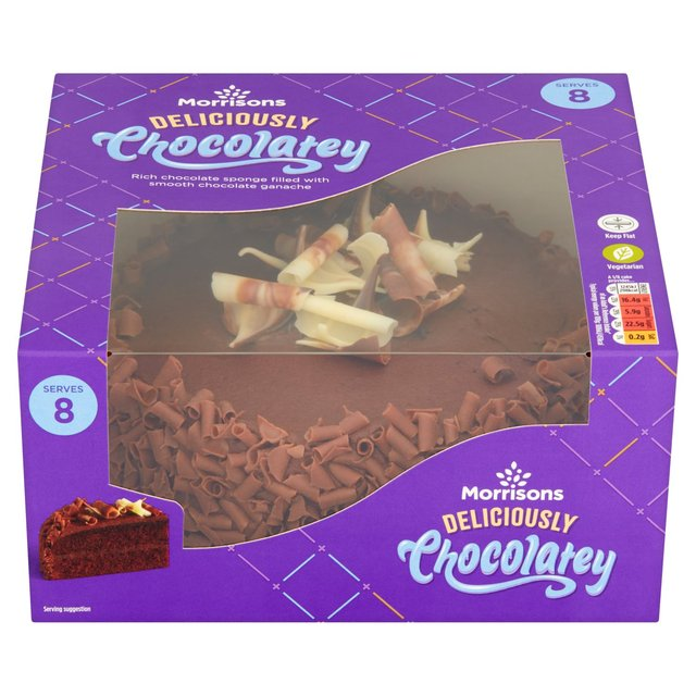 Chocolate Caterpillar Cake Morrisons