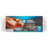 Weight Watchers 5 Spiced Carrot Cake Slices