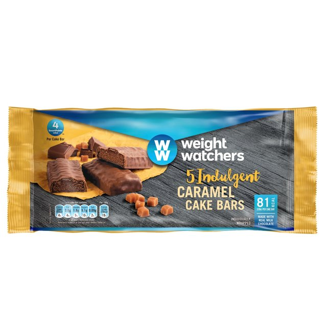 Morrisons Weight Watchers Caramel Cake Bars 5 Per Packproduct