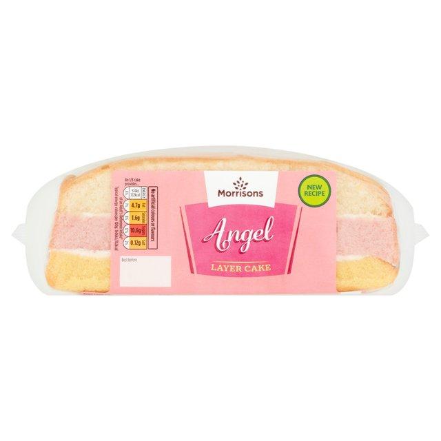 Morrisons Angel Layer Cake