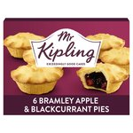 Mr Kipling Apple & Blackcurrant Pies