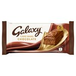 Galaxy Chocolate Cake Bars