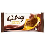 Galaxy Caramel Cake Bars