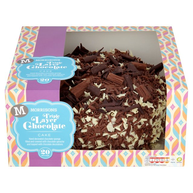 Triple Layer Chocolate Cake Morrisons