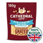 Cathedral City Lighter Mature Grated Cheese
