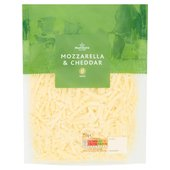 Morrisons Grated Mozzarella & Cheddar