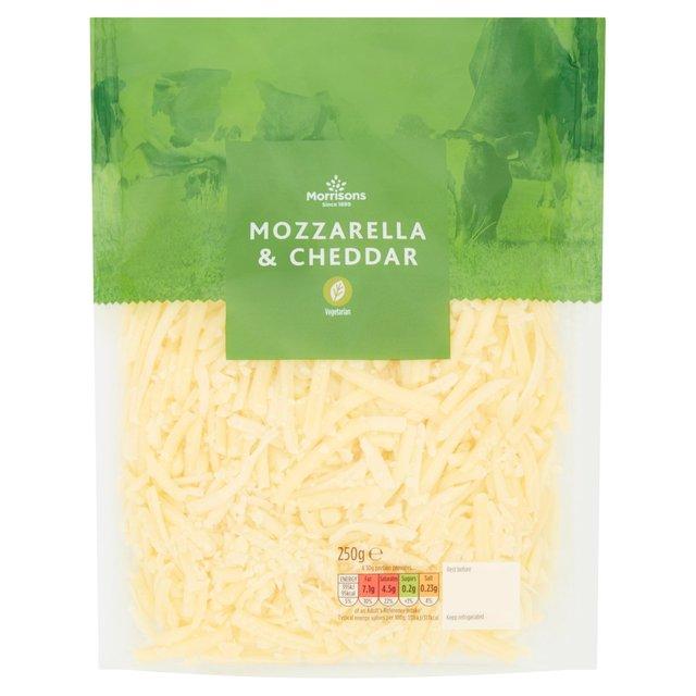 Morrisons Grated Mozzarella & Cheddar