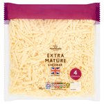 Morrisons Extra Mature Grated Cheddar