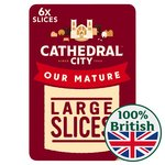 Cathedral City 8 Slices Mature Cheese