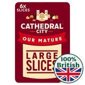 Cathedral City Mature Cheddar 8 Slices