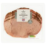 Morrisons Carvery Peppered Beef 4 Slices