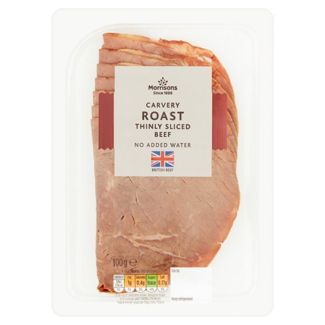 Morrisons Carvery Thinly Sliced Roast Beef