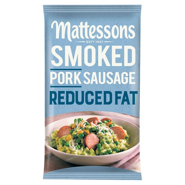 Mattessons Reduced Fat Smoked Pork Sausage
