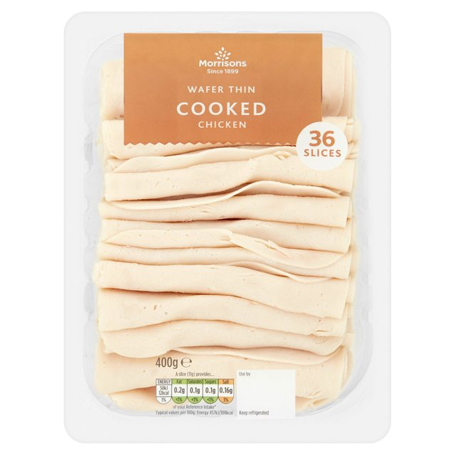 Morrisons Wafer Thin Roast Chicken Slices