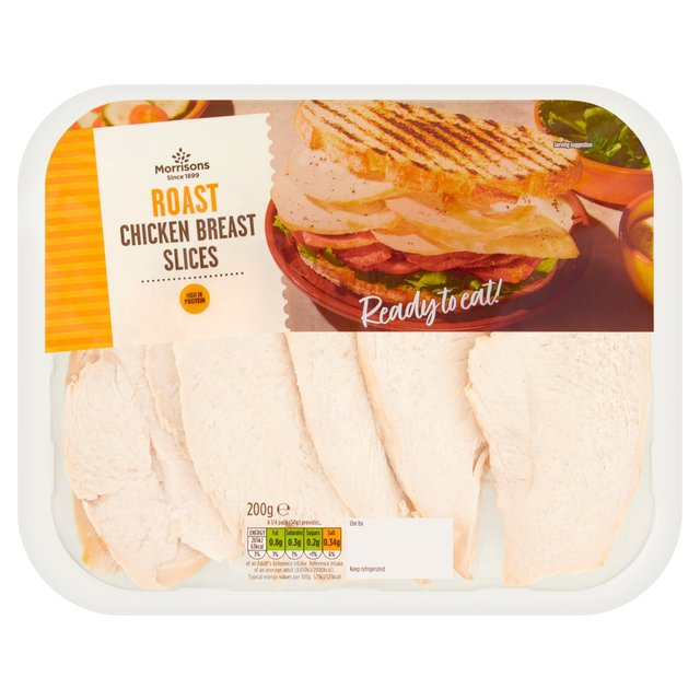 Morrisons Morrisons Roast Chicken Slices 200gproduct Information