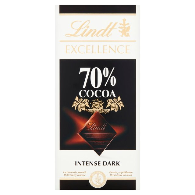 Lindt Excellence 70% Cocoa Dark Chocolate