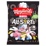 Maynards Bassetts Liquorice Allsorts Sweets Bag