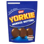 Yorkie Man Size Buttons Chocolate Buttons Sharing Bag