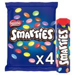 Smarties Milk Chocolate Tube Pack of 4