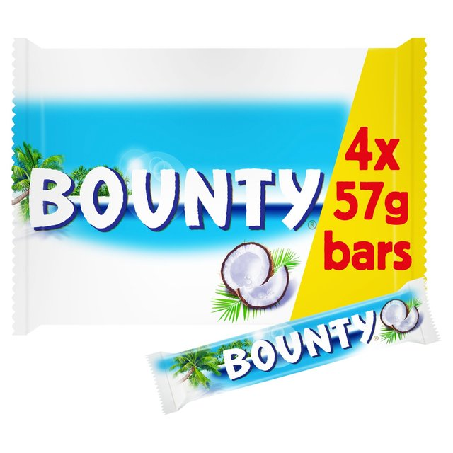Bounty Coconut Milk Chocolate Duo Bars Multipack