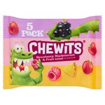 Chewits Strawberry, Blackcurrant & Fruit Salad Flavour Multipack