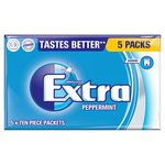 Wrigley's Extra Sugarfree Peppermint Gum Multipack