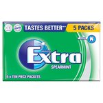 Wrigley's Extra Sugarfree Spearmint Gum Multipack