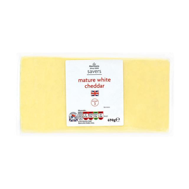 Morrisons Savers Mature Cheddar
