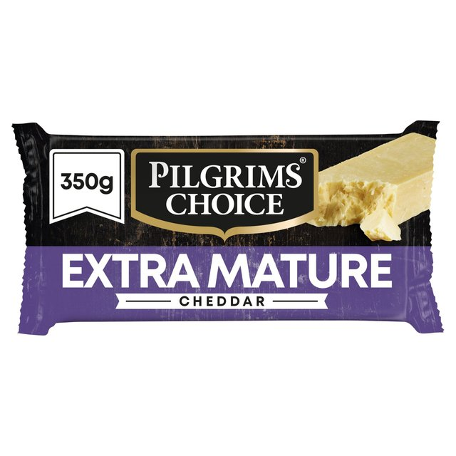 Morrisons: Pilgrims Choice Extra Mature Cheddar 350g(Product
