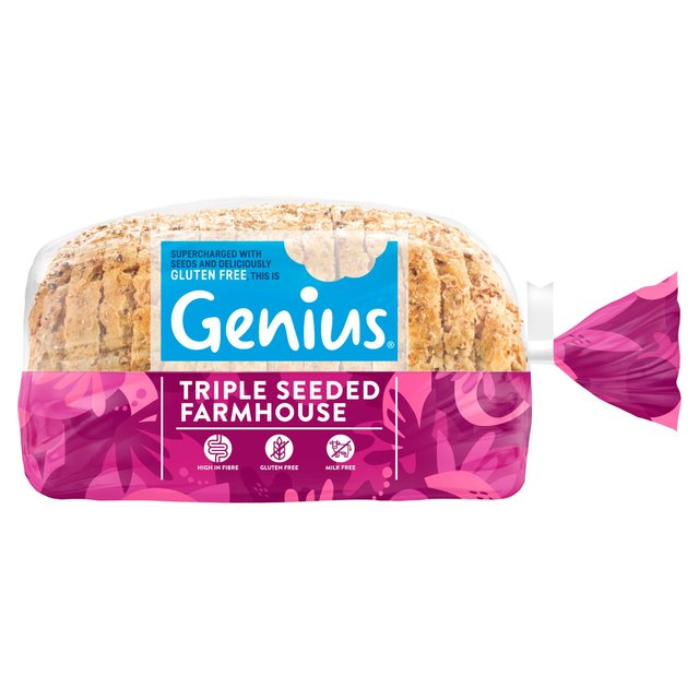 Genius Gluten Free Triple Seeded Sandwich Loaf