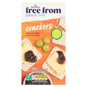 Morrisons Free From Crackers