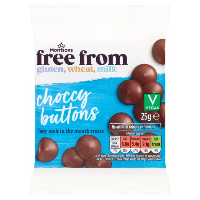 Morrisons Free From Choccy Buttons