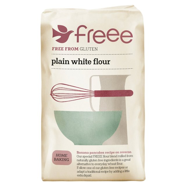 Doves Farm Gluten Wheat Free Plain White Flour Blend 1kg