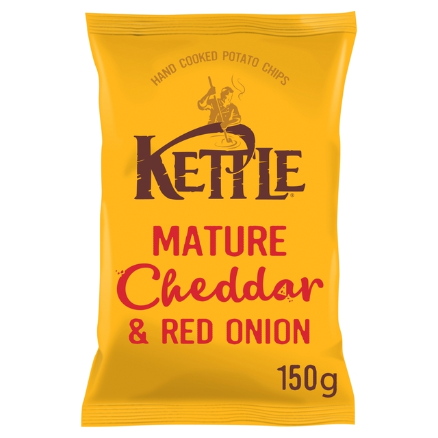 Kettle Chips Mature Cheddar & Red Onion Crisps